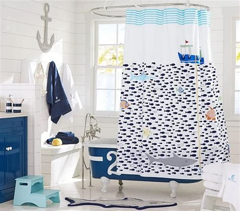 Sea Shower Curtain by The Sea Multicolor Shower Curtain