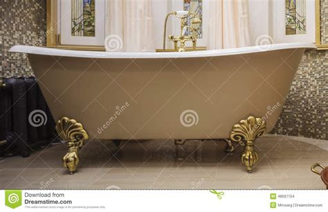 old fashioned bathtub bathroom with old fashioned bathtub stock photo image