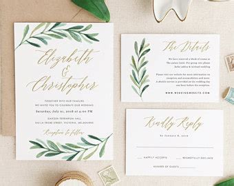 wedding invitation wording sles templates wedding invitations etsy