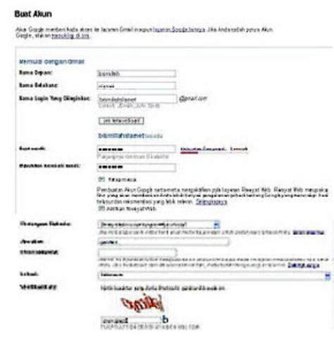 membuat email sendiri di google cara membuat email gratis di google