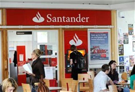 santander bank account opening money