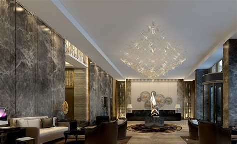 Download Kitchen Design by Marble Walls In The Hotel Lobby