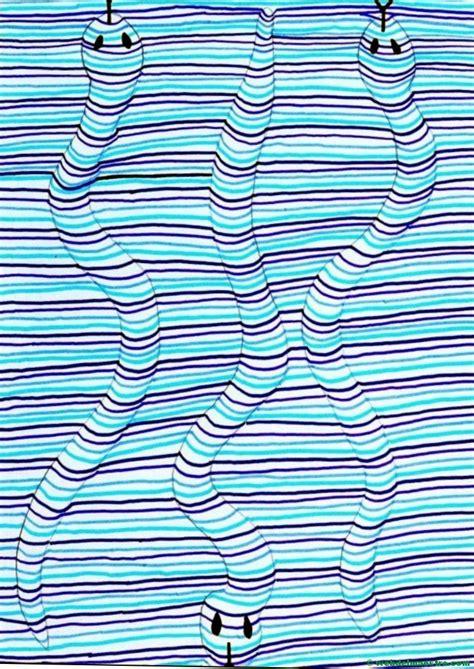 imagenes tridimensionales ocultas para imprimir dibujos con l 237 neas dibujos en 3d para ni 241 os web del