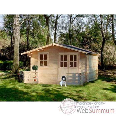 terrasse 4x5 azur 4x5 chalet jardin dans chalet bois sur ambiance