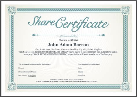 Share certificate template companies house un mission resume share certificate free template create manage and cancel another inform direct product update october 2016 yelopaper Gallery