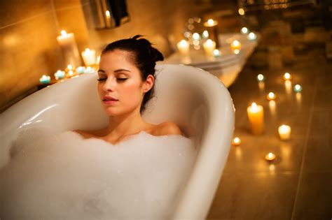 relaxing bathtub unwind and relax with a soak in bath salts dc on heels