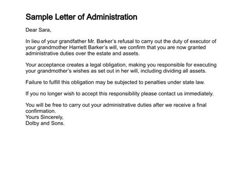 How To Get A Letter Of Administration