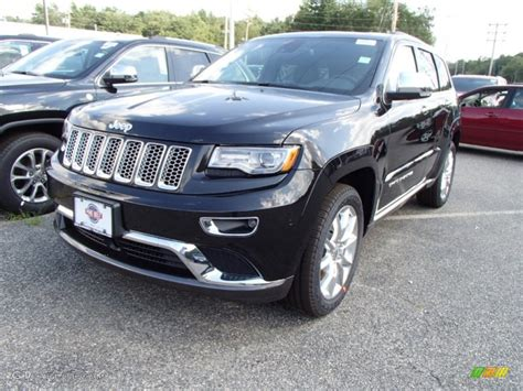 jeep summit black 2014 brilliant black pearl jeep grand