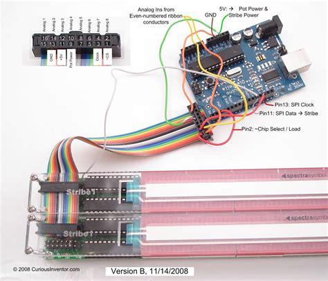 curiousinventor arduinome wiring diagram arduinome