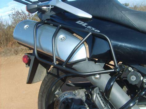 Suzuki V Strom Luggage Pmr Suzuki V Strom Dl650 Side Luggage Racks 2004 2011