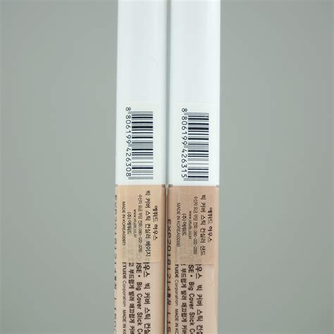 Etude Stick Concealer etude house big cover stick concealer review