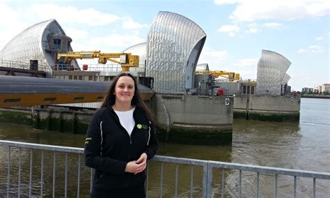 Thames Barrier Office | how do i become a flood forecaster money the guardian