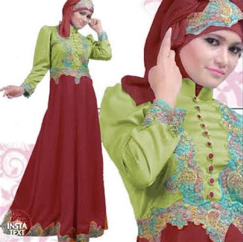 Princess Dress Merah baju gamis pesta satin princess hijau maroon s67 gaun