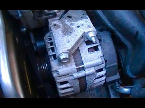 replace   chevrolet malibu alternator