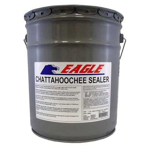 Acrylic Sealer waterproofing sealers eagle finish 5 gal clear high