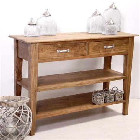 console in legno consolle in legno naturale mobili etnici provenzali