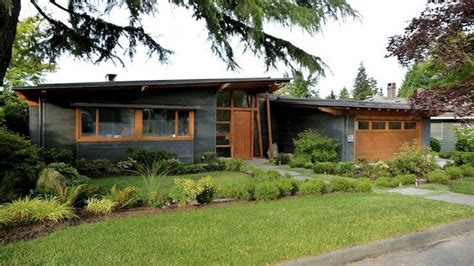mid century ranch house atomic ranch house but with douglas fir windows doors