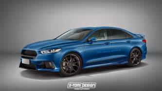 Ford Taures This Unofficial Rendering Of A Ford Taurus Rs Makes Us