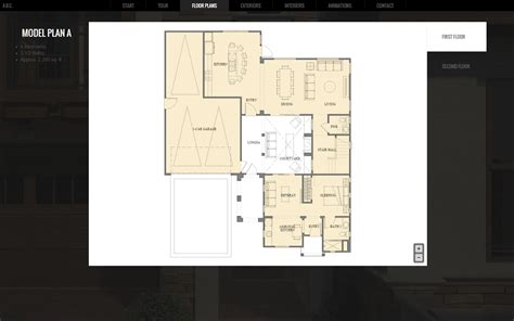 floor plan web app abc home virtual tour studio 75ive studio 75ive