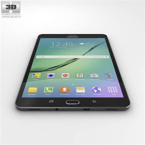 Samsung Tab S2 8 0 samsung galaxy tab s2 8 0 inch lte black 3d model hum3d