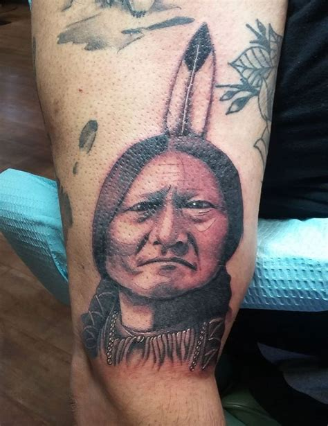 sitting bull tattoo 13 best s portfolio images on