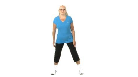 walking sideways home exercise program