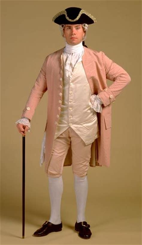 a colonial gentleman s clothingmen costumes 18thcentury