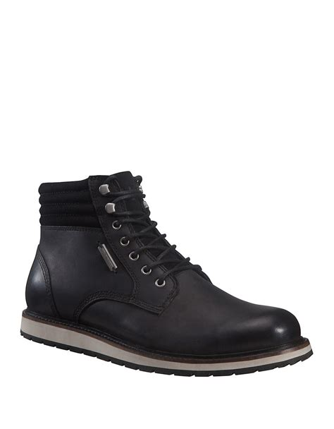 helly hansen mens boots helly hansen conrad boots in black for lyst