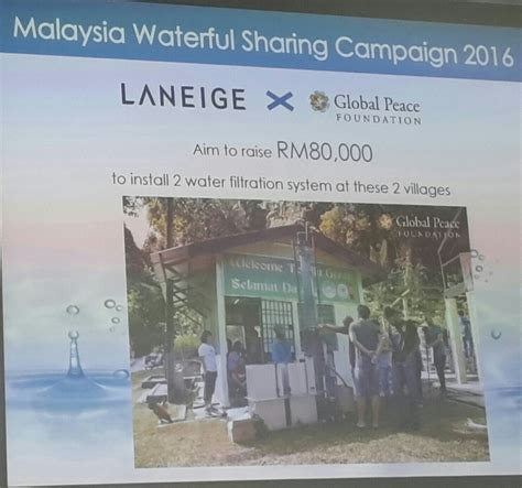 Laneige Asli laneige waterful caign 2016 to provide clean