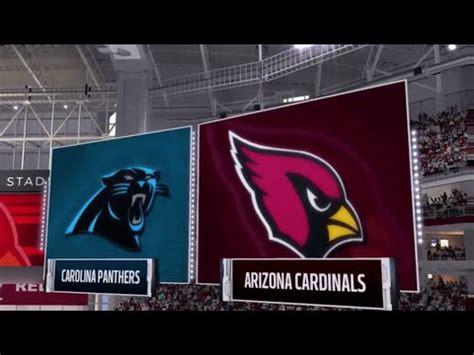 cardinal en vivo arizona vs carolina 161 nfl en vivo cardinals vs panthers