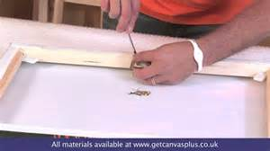 how to hang a painting canvas hanging and canvas hanger kit how to youtube