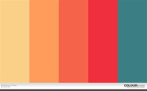 palette of colors on the creative market 20 bold color palettes to