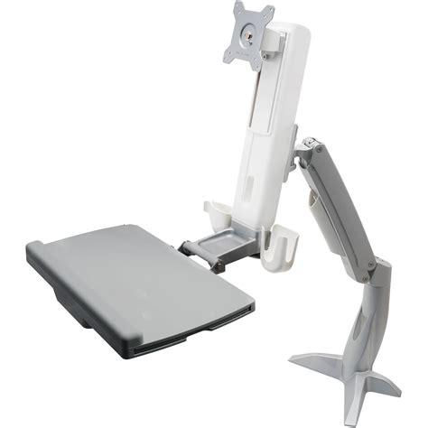 Sit Stand Desk Mount Dyconn Desk Mounted Sit Stand Workstation Mount Wsmd100 B H