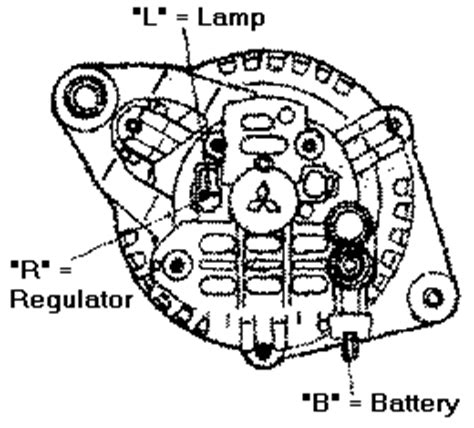 wiring diagram for a two wire alternator get free image
