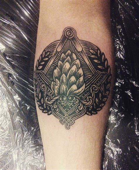 hops tattoo 46 best images about craft tattoos on