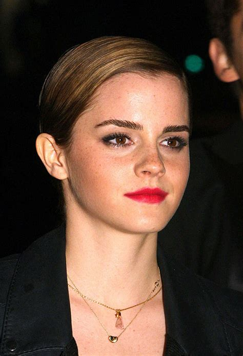 emma watson commercial emma s hair helps her land high profile style role photo 5