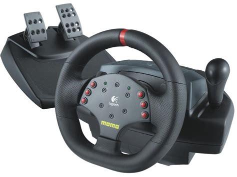 logitech volanti logitech momo 174 racing feedback wheel