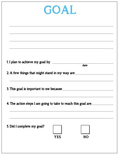 32 best images about goals on goal planning