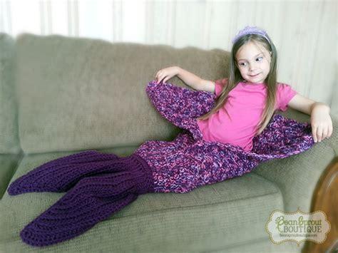 Ready Mermaid Blanket Baby 4 mermaid blanket 183 bean sprout boutique 183 store