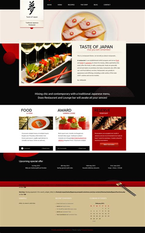 20 best wordpress themes for restaurants
