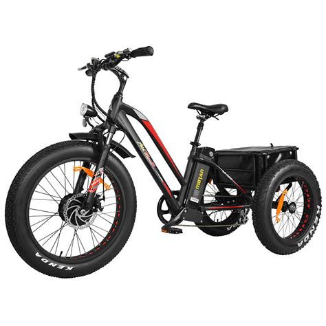 3 Wheel Electric Cargo Bike by Addmotor Motan 3 Wheel Electric Bicycle 500w Electric