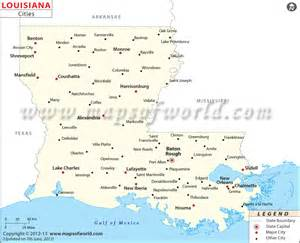 louisiana map cities 5 best images of printable map of louisiana cities louisiana map with cities and towns