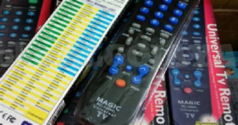 Harga Remot Tv Merk Joker cara setting remote universal tv dvd dan receiver digital