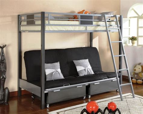 futon bunk beds bunk bed with stairs plans the modern bunk