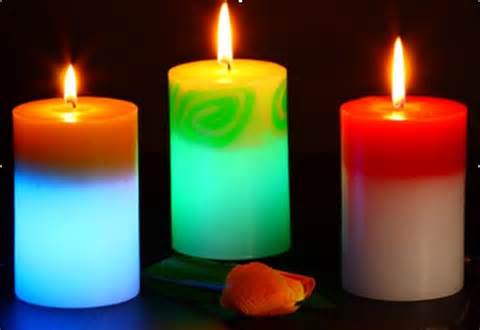 colorful candles colorful candle sw ca027