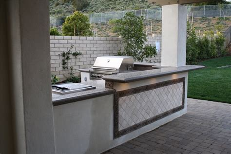 Outdoor Kitchen Concrete Countertop by Sizing Options For An Outdoor Kitchen Landscaping Network