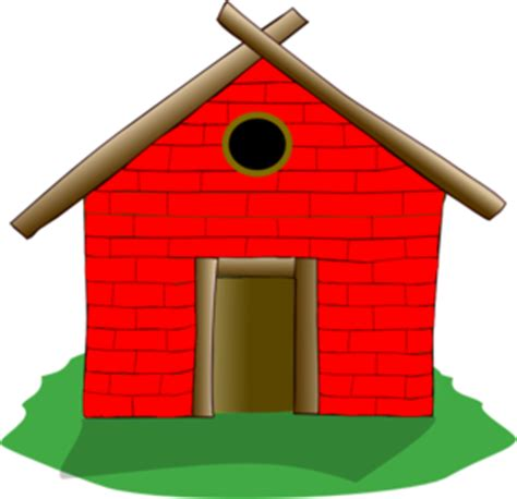 Brick House house cartoon png clipart best