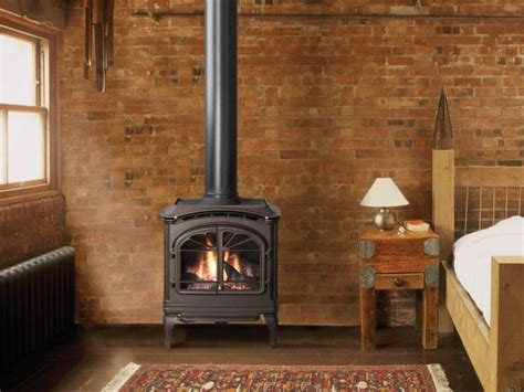Free Standing Gas Log Fireplace by Free Standing Gas Fireplace Stove For The Home