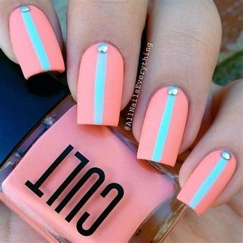 Easy Nail Design Ideas by 17 Easy Nail Designs And Ideas For 2017 Pretty