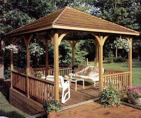gazebo plans free 25 best ideas about gazebo plans on garden